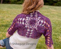 Ravelry: Chrysanthemum Shrug pattern by Shannon Mullett-Bowlsby