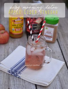 Easy Morning Detox & Energy Routine: Apple Cider Vinegar Elixir | Beauty and MakeUp Tips