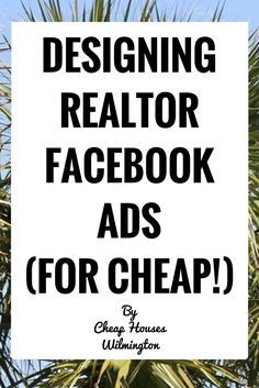 """Real-estate agent Facebook ads are very popular right now and for good reason. They work! I myself have blown THOUSANDS of dollars trying make the """"perfect"""" lead generation technique and I'm going to show you my """"framework"""" of how I create Facebook ads (without blowing the bank, of course!):  Preface: Before anything, you must …"""