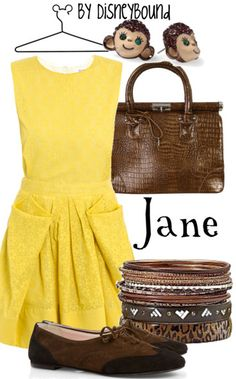 Jane is my favorite Disney character. Love this ensemble!