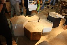 contemporary design marble inlay side table - Google Search