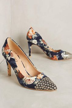 Billy Ella Shimmer-Toe Heels - anthropologie.com