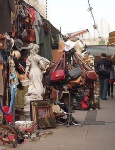 Girls Guide to Paris pic of Paris Flea Markets: Marché aux Puces St.-Ouen de Clignancourt