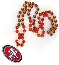 san francisco 49er beads