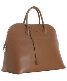 Hermes 37cm Sapphire Bolide Togo Leather Rare Color | Hermes ...