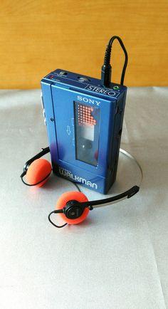 Details About 1980s Sony Sports Walkman Wm F35 Fm Stereo
