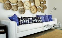 Ikat pillows!