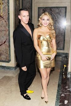 CL (Lee Chae Rin) with Jeremy Scott.