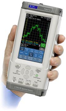 PSA2702 Handheld 2.7GHz Spectrum Analyzer  www.saelig.com  Price: $1,695.00