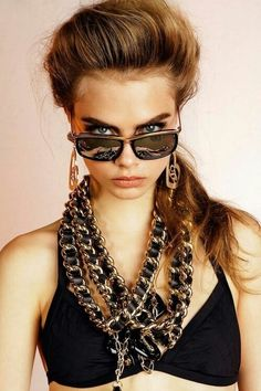 1e993370e4e4a5 Cara Delevingne has been revealed as the new face of DSquared2 eyewear