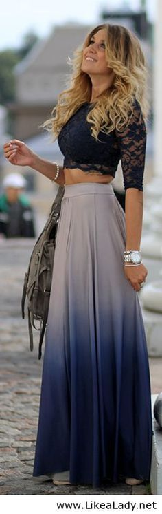 love the skirt but not a fan of the top...