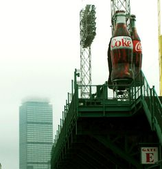 Icons: Gate E (Green Monster), The Prudential Tower, Coca-Cola  #Fenway  #GreenMonster  #Coca-Cola   #BostonRedSox  #k2yhe