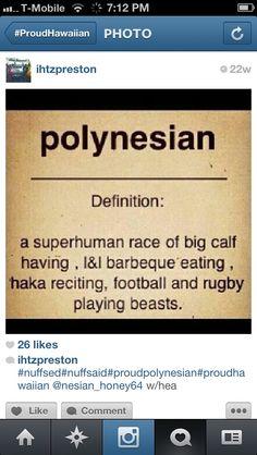 Polynesian- LOVE IT!!!!!!! <3
