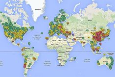 Interactive Map Lets You See the Air Quality for 1,000 Places Around the Globe | TakePart