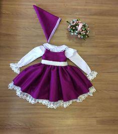 Vestido de Roxo - Infantil