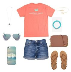 """Summer casual"" by jennagj on Polyvore featuring Billabong, Topshop, Michael Kors, Lagos, Accessorize, Lucky Brand, Cutler and Gross and Casetify"