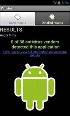 VirusTotal за Android – да проверим апликациите си #android #virus #androidOS