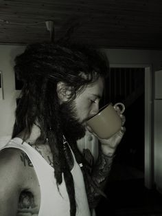 mmmmm...another pretty dreaded man; will def be following this tumblr: Dreads + Beards