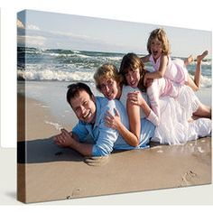 Family photos look very rich when rendered on canvas. Choose from two base technique options. Add-on services: converting to black and white or sepia, photo restoration, colorization and collage creat . Photography Projects, Beach Photography, Children Photography, Family Photography, Amazing Photography, Portrait Photography, Beach Pictures, Pretty Pictures, Beach Pics