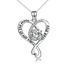 """YFN """"I Love You to the Moon and Back"""" Sterling Silver Inf... https://www.amazon.com/dp/B071QZHXF9/ref=cm_sw_r_pi_dp_U_x_2A1PAbB22E5MN"""