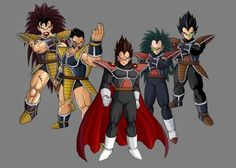 Saiyan Squad by DBZ-Tenkaichi-Club on DeviantArt Dragon Ball Z, Chibi Goku, Female Goku, Anime Life, Anime Artwork, Anime Comics, Character Illustration, Dbz, Fan Art