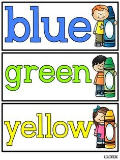 Colors Flash Cards {FREEBIE} English and Spanish would be good to print off and use at mattime Color Flashcards, Sight Word Flashcards, Preschool Colors, Fall Preschool, Flashcards For Toddlers, Classroom Inspiration, Classroom Ideas, Kindergarten Science, Thing 1