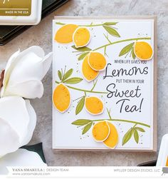 Hello friends! This is Yana and I hope you are having a fabulous week! I adore creating my own custom patterns using stamps so I couldn't ...