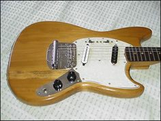 Natural Mustang 1966 - 'Bad' wood looks great