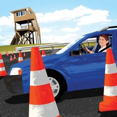 Creating a Teen Who Can Drive Well #parenting #teenager #driving