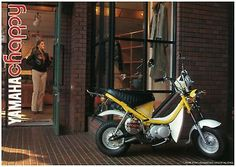 YAMAHA Brochure LB80 CHAPPY 1981 Scooter Minibike Sales ORIGINAL OEM