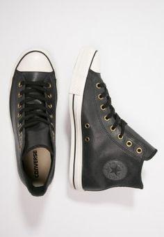 Converse CHUCK TAYLOR ALL STAR VINTAGE - Sneakers hoog - black/egret - Zalando.nl