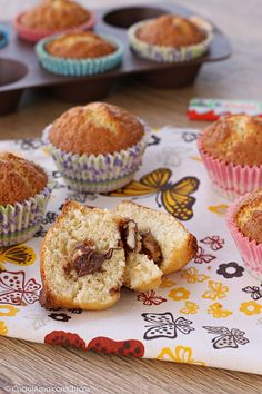 Muffins, Italian Cake, Plum Cake, Recipes From Heaven, Biscotti, Cupcakes, Favorite Recipes, Sweets, Breakfast
