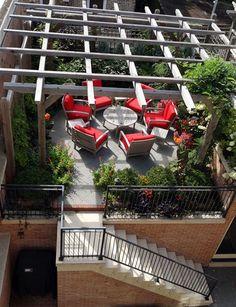 Intensive Green Roof - urban garden roofdeck