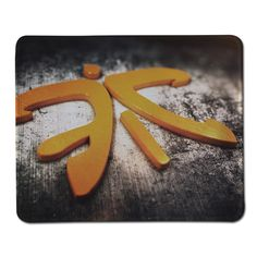 New High Quality Fnatic Logo Pattern Mat Soft Anti-Slip Notebook Computer Mouse Pad for Gamer Mousepad