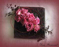 Allerheiligen bloemschikken: Allerheiligen grafstuk maken met rozen