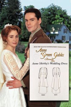 AHHHH. I was THIS MUCH too late. Anne Shirley's Wedding Dress Pattern.