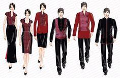 Дизайн & Tailor Сингапур | F & B Uniform: ресторан, кафе и бар