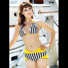 Sailor Swimsuits - Vintage-Inspired Modern Bathing Suits & Bikinis by FablesbyBarrie (GALLERY)