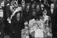 Attending a Royal Funeral of King Frederik of Denmark: Queen Ingrid of  Denmark