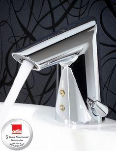Fantastic design! Oras Vienda smart washbasin faucet