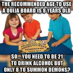 Maybe because the demon in the bottle is real?