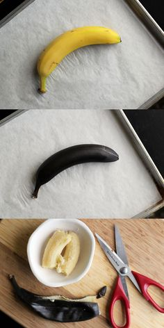 I'm excited about the banana one! Thanks @Julia C.! Baking Hacks - 12 Life-Changing Baking Tricks - Country Living