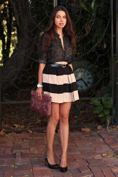 Luxurious skirt - sweet photo