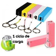 Cargador Portable Power Bank 2600mah