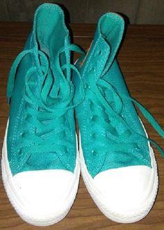 Converse All Star Green Unisex Size 6Men/ 8Women Hightop Sneakers #Converse #CasualShoes