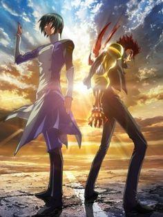 anime:s.cry.ed /personajes: ryuhou y kazuma