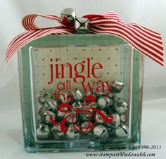 Image detail for -Home Decor and Glass Block Ideas - Stamp With Linda Walsh