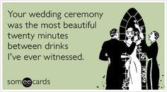 Best wedding planning quotes hilarious so true Ideas – funny wedding quotes Wedding Ecards, Funny Wedding Vows, Wedding Humor, Wedding Ceremony, Wedding Planning Quotes, Wedding Quotes, Wedding Ideas, Wedding Fun, Free Wedding