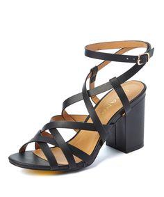 Black Rammy Sandal by Liliana Footwear #shoes