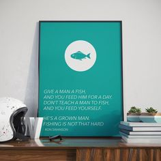 Fishing Is Not That Hard - Poster - Parks and Recreation